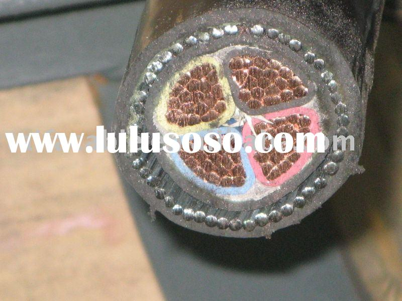 Steel Wire Armoured Power Cable(Gland and Mains Cable)