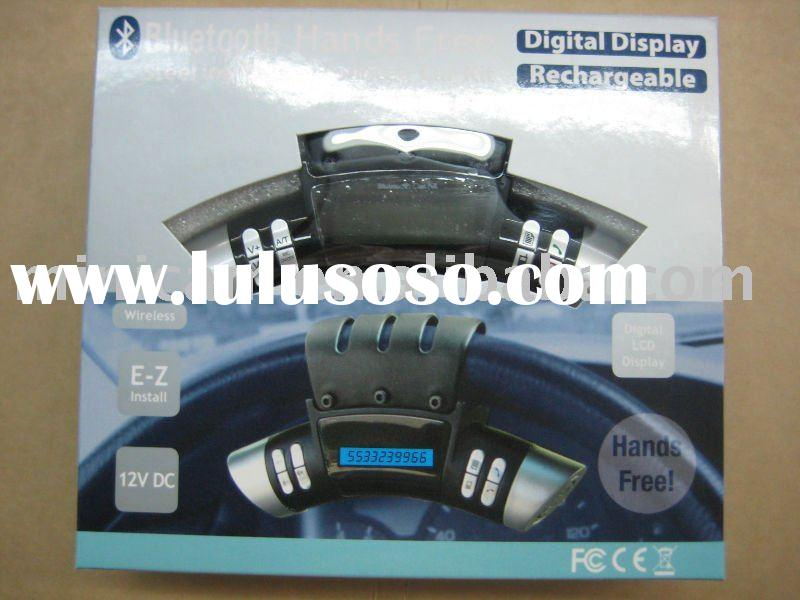 Steering Wheel Bluetooth Handsfree Car Kit Hands Free Cell Phone Call Device