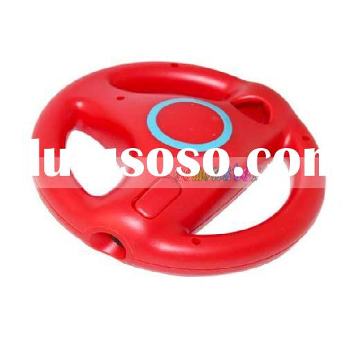 Steering Wheel Controller For Wii(Red)