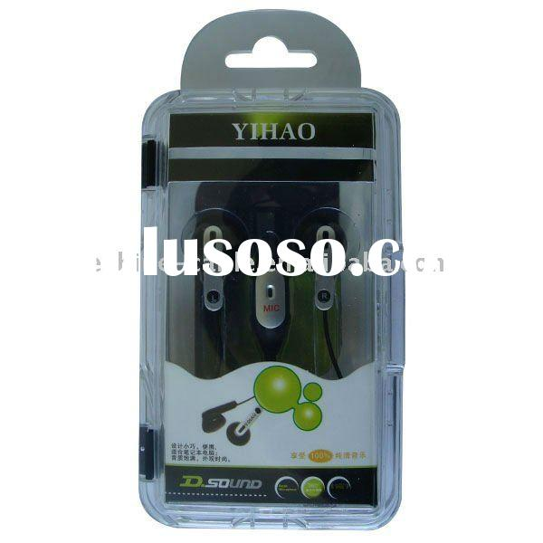 Stereo mp3/mp4 earphone withi Microphone