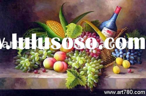 Still life canvas painting(Hand-painted oil painting)