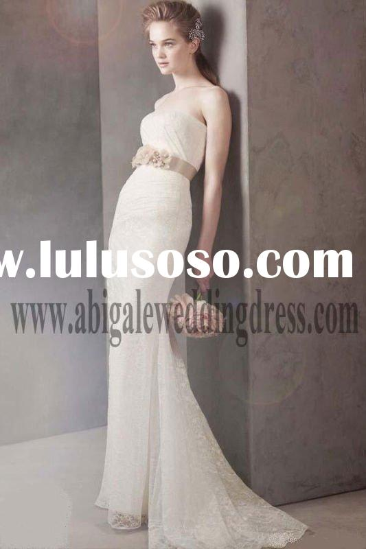 Strapless Mermaid Lace Bridal Gown 2011