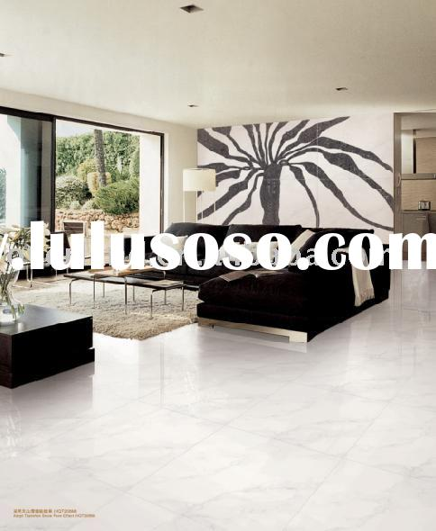 Super White Nano Polished Porcelain Tiles HQT206M