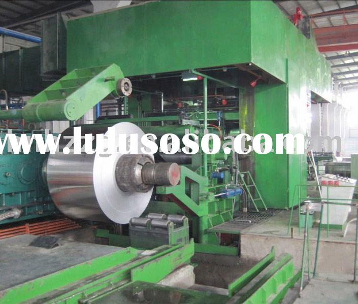 Supply 4 hi aluminum cold rolling mill machine