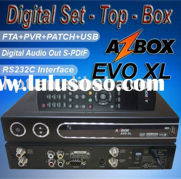 Supply Digltal Satellite Receiver AzBOX EVO XL