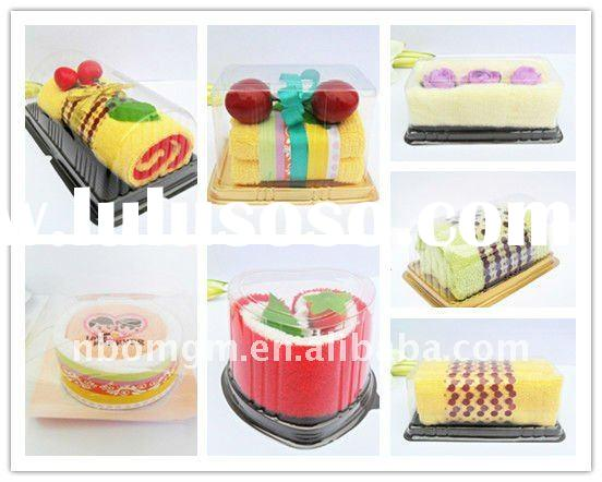 Sweet Cake Towel Promotional Gift