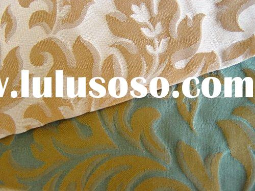T231 Polyester/Rayon Jacquard Upholstery Fabric for Sofa