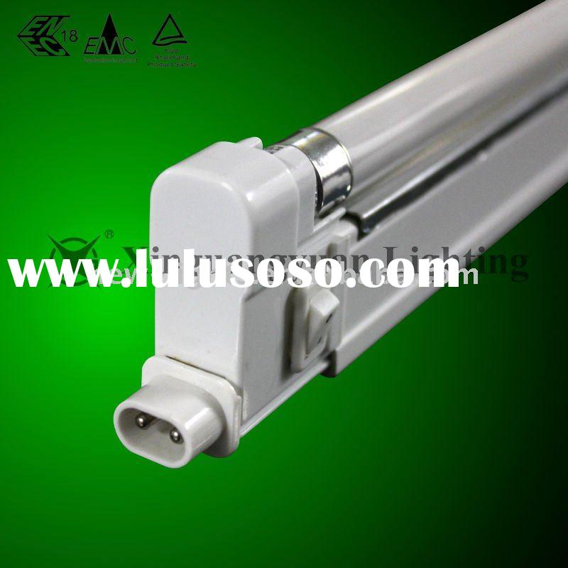 T4 Electronic Wall/Fluorescent Lamp with Cover and Reflector