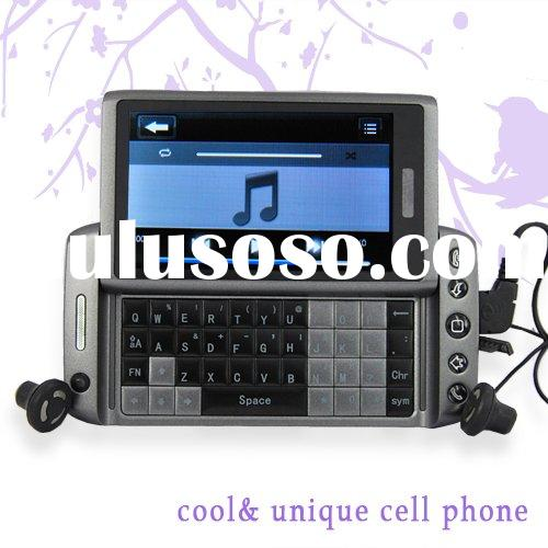 T5000 3.6 Inch Touch Screen+Qwerty Keyboard Wifi Tv Java Cell Phone with Bluetooth Dual Sim Card
