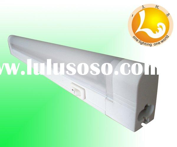 T5 fluorescent lamp fixture/holder( with cover and switch)