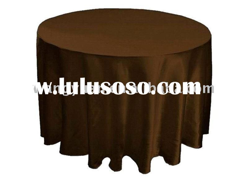 Tablecloths&Table Linenes,satin round tablecloths,table cover for wedding