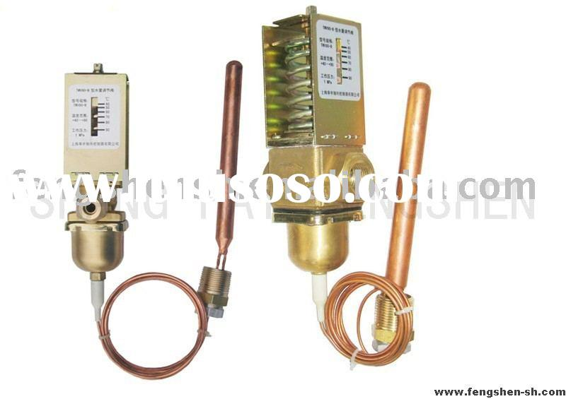 Temperature controlled actuated water valves