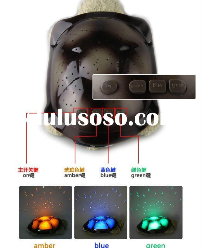 Usb Hub Clock With 7 Color Changing Mood Light For Sale