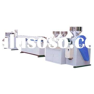 Tri-Color Drinking Straw Making Machine