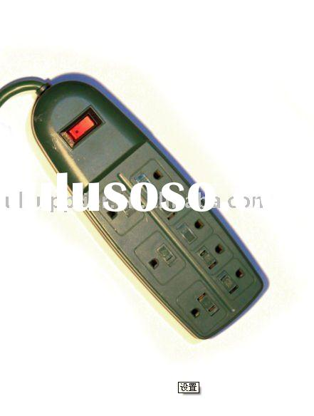 UL-Listed 8 outlet power strip with transformer spaced