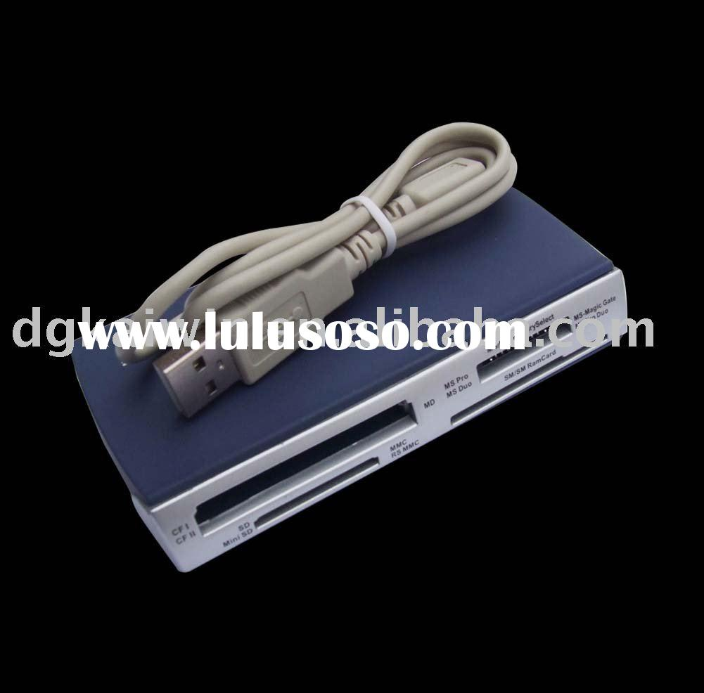 USB 2.0 disk / card reader all in one