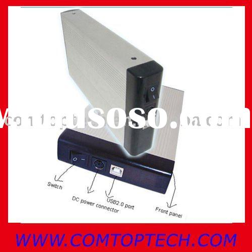 "USB 3.5"" IDE HDD enclosure/IDE hard drive 2TB enclosure"