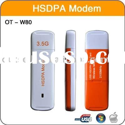 USB HSDPA Wireless modem Internet Connection