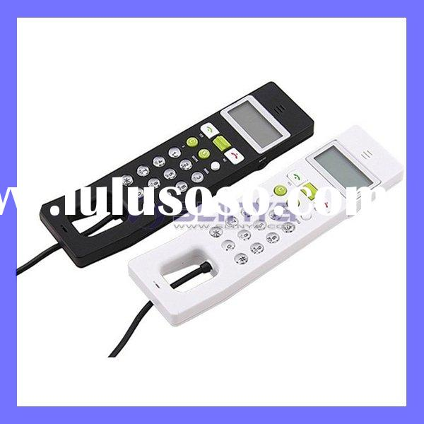 USB Internet VOIP Skype Phone Telephone Handset With LCD Screen