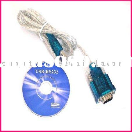 USB to RS232 Serial 9 Pin DB9 Cable Adapter PC/Mac/GPS