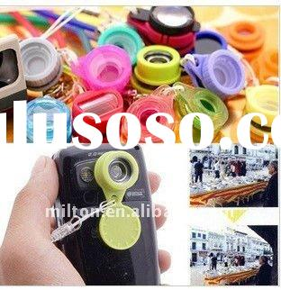 Ultra popular Jelly Lens for mobile phone/12 styles of mini Jelly Lens/wide angle lens for phone and