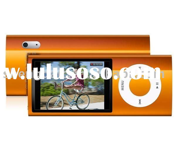 Ultra thin MP4 player 2.2: TFT LCD display with FM Camera recorder function digital mp4 player