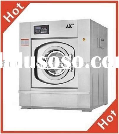 Various industrial washing machine and dryer
