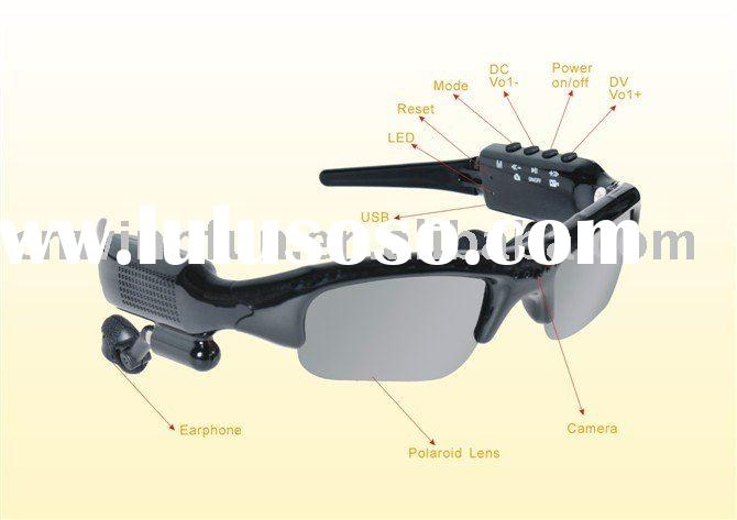 Video sunglasses/camera sunglasses/mp3 bluetooth sunglasses
