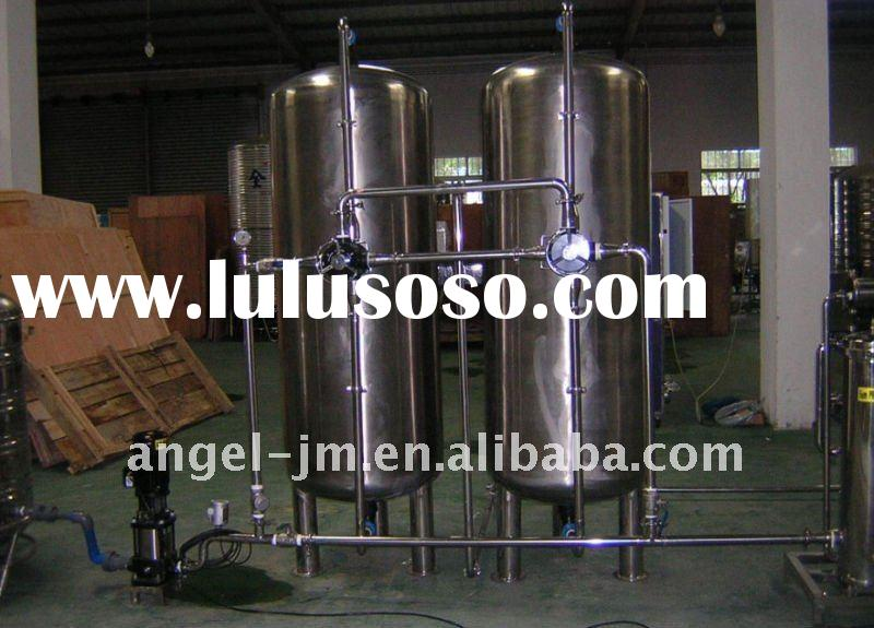 Water Treatment System-Stainless steel sand filter/caron filter