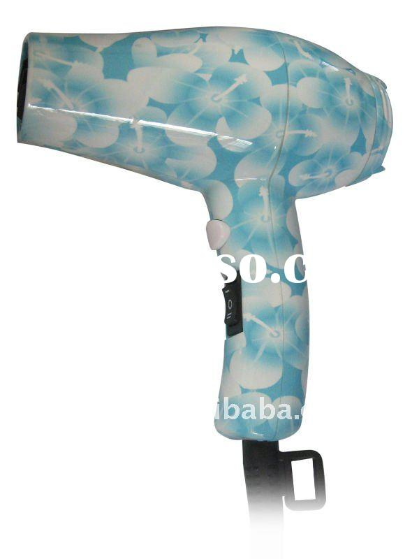 Water-transfer printing mini hair dryer