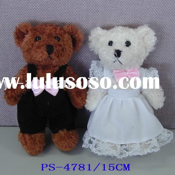 Wedding Bears,stuffed teddy bear,plush teddy bear