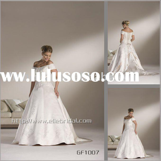 Wedding High-quality satin cloth lace straps Bra fat brides wedding section