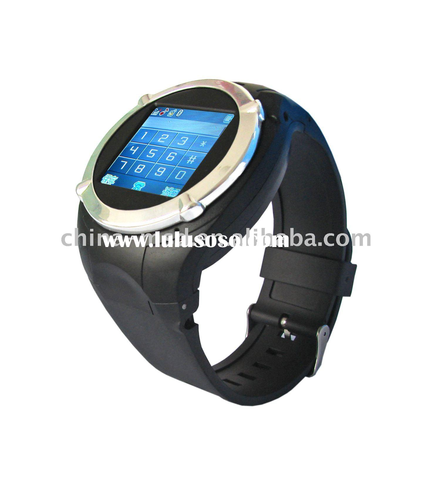 Wholesale, MQ998 Watch Phone with MP4 player and FM Radio, Student watch, sport cell phone watch