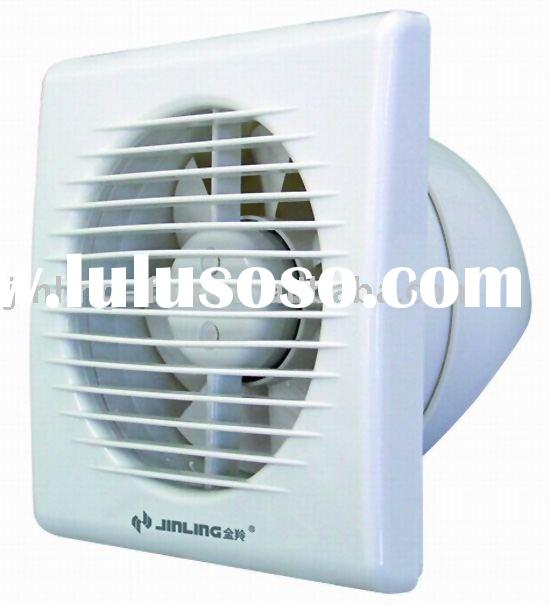 Window mounted ventilating fan/exhaust fan