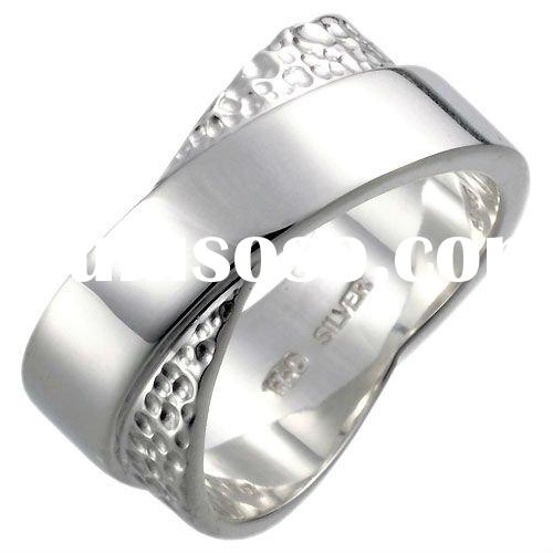 Women's Stylish Stainless Steel Couple Rings