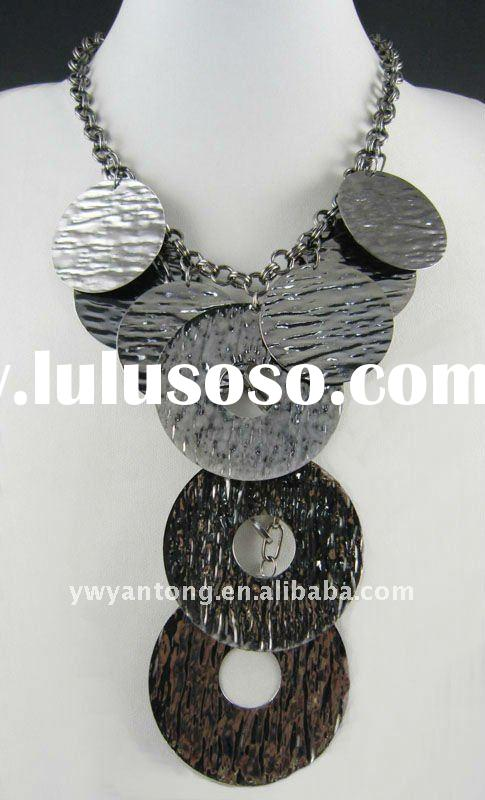 Yiwu 2012 lady's fashion vintage pendant necklace