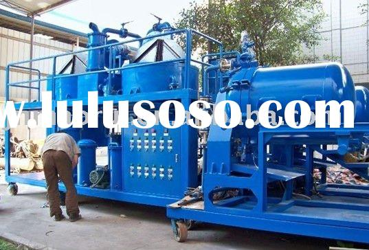 ZYD waste used black car/motor engine oil recycling plant/system