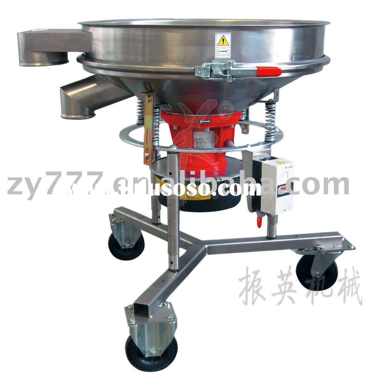 ZYG high frequency vibrating screen for light calcium powder