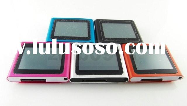 """(*IMP046B*) New 16GB 16G 1.8"""" Touch LCD FM 6th Generation Gen touch screen MP3 MP4 Player MP4 t"""