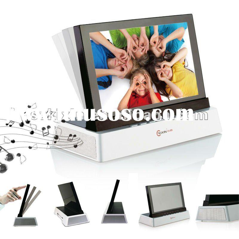 """""""Rocking Screen"""" 7"""" Digital photo frame with stereo"""