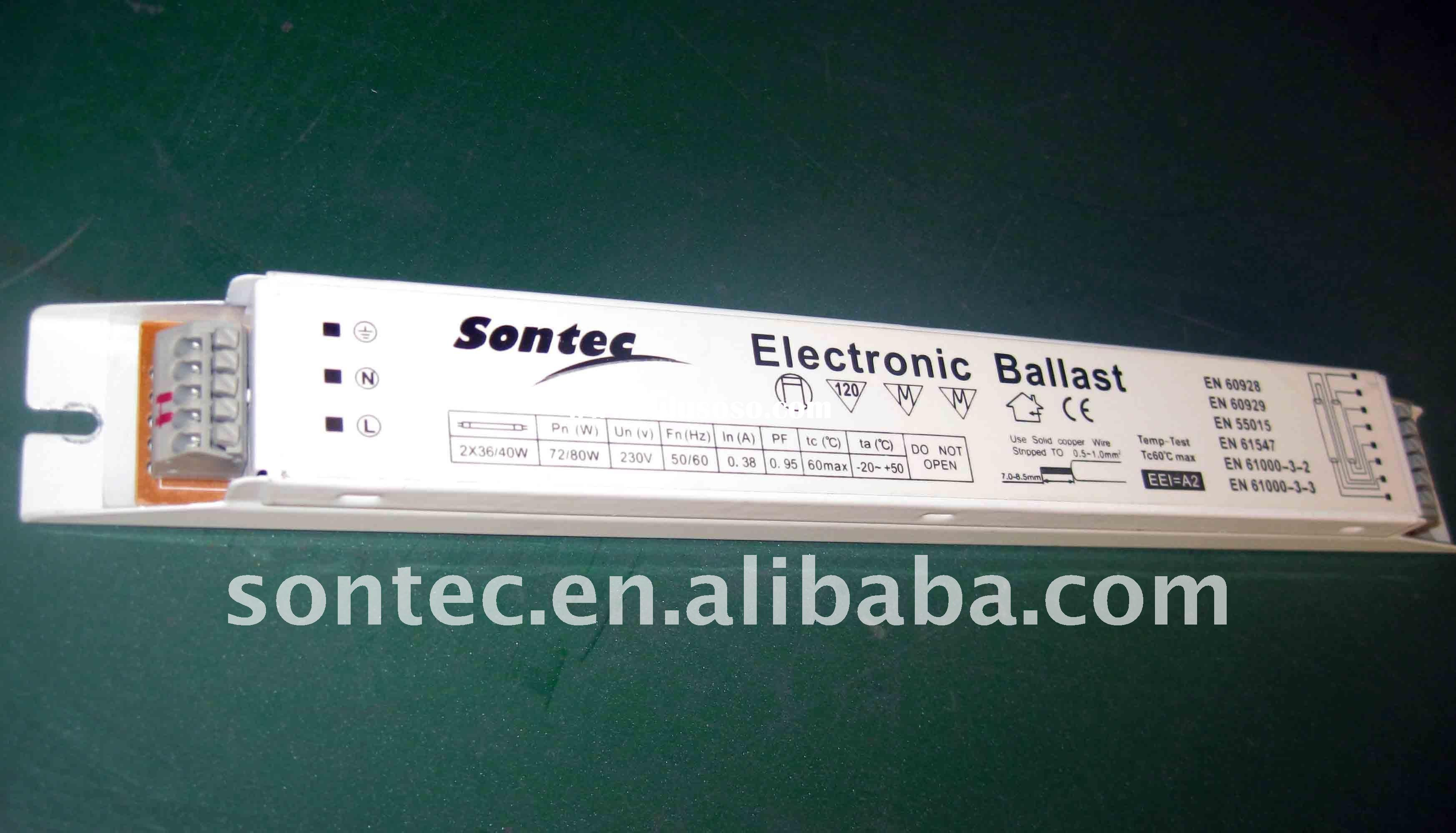 (ST-J258) 2*58W T8 electronic ballast for fluorescent lamp