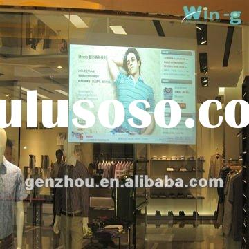 (width 1.524m)glass holographic projection screen film