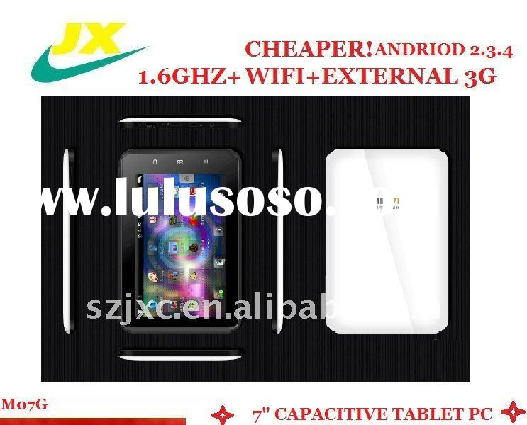 best selling &good quality cheap andriod 2.3.4 tablet pc; high speed cup tablet pad;thin tablet