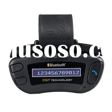 bluetooth supplier,steering wheel bluetooth hands free car kit with LCM show