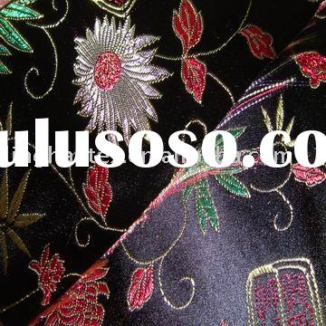 brocade jacquard fabric / yarn dyed fabric
