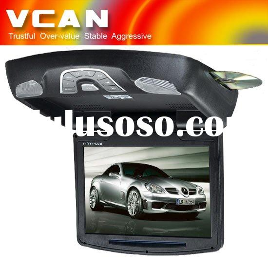 car 12 inch Flip Down TFT LCD Monitor with DVD player