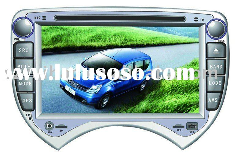 car dvd gps 2 din used for NISSAN MARCH