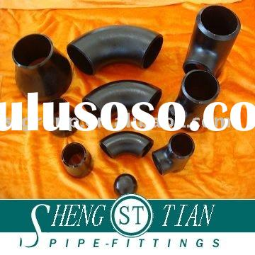 carbon steel SCH80 pipe fittings and pipes