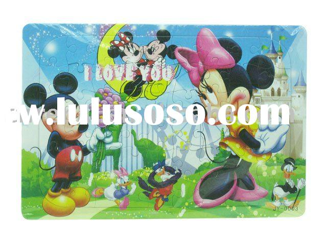 cartoon jigsaw puzzle /toy/promotion gift-CNRA033