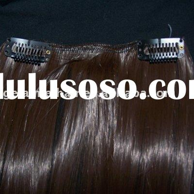 clip in human hair extension,hair weft,hair fashion 22' 170g light color